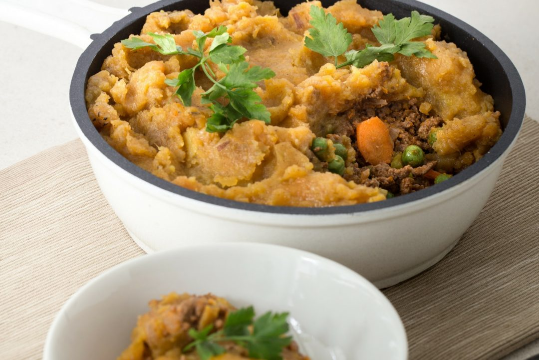 sweet potato shepherds pie cover