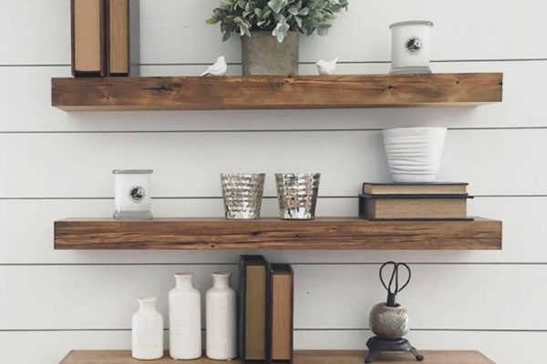 how to create shelving