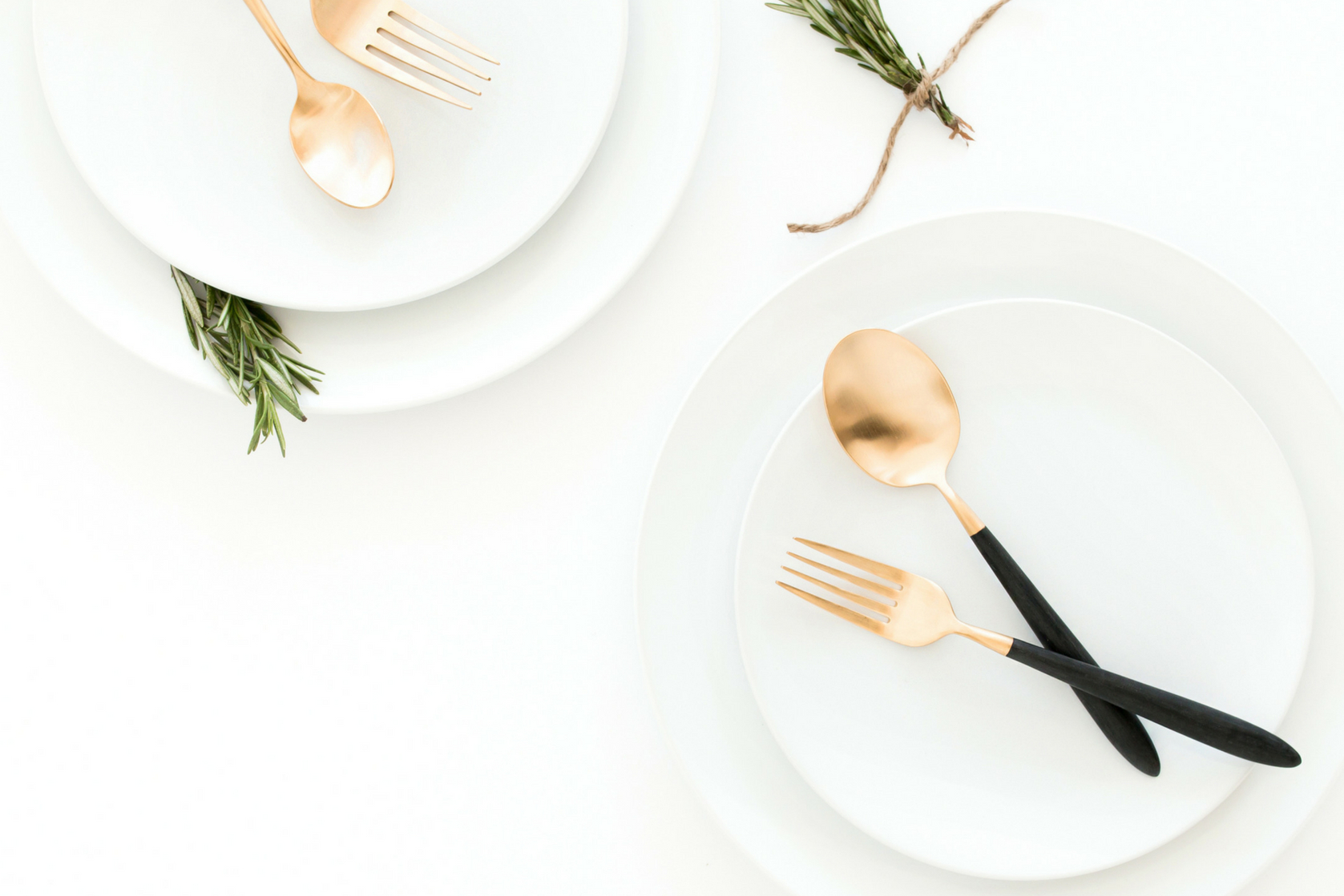 3 simple table settings 1