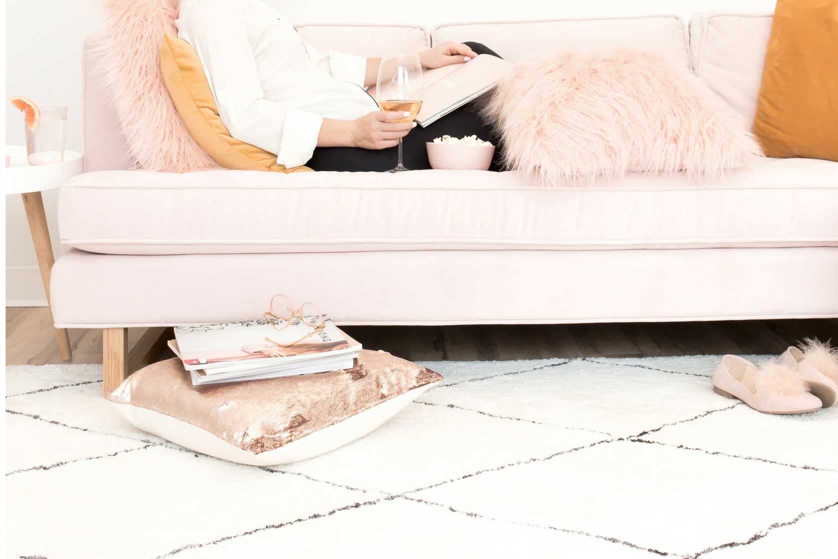 how to create a statement floor